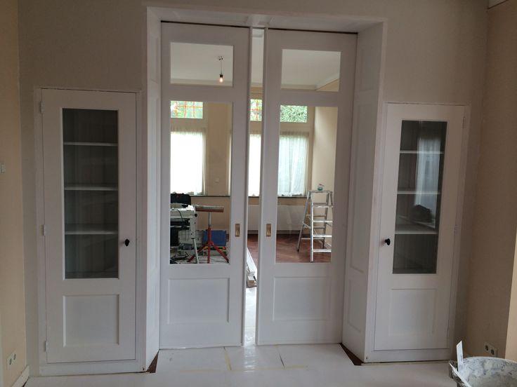 Kamer en suite nog in aanbouw bij klant in delft pinterest doors - Zen kamer ...
