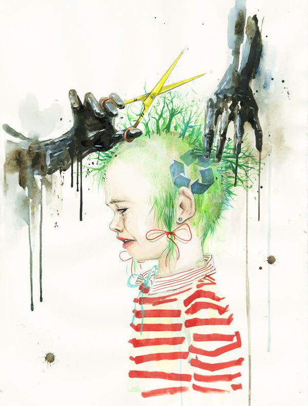 Paintings by lora zombie