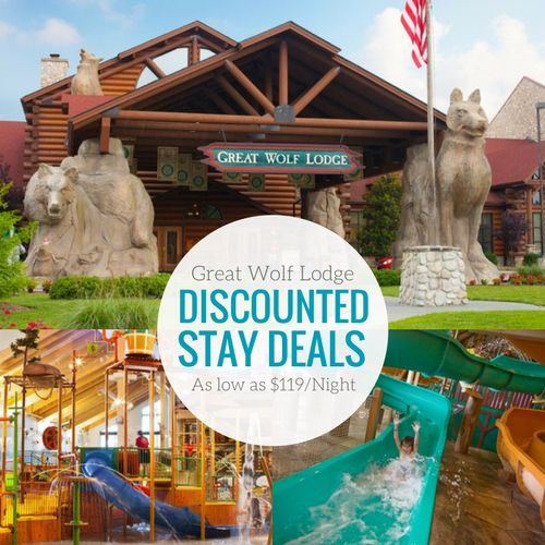 If you have wanted to take your family to a Great Wolf Lodge with your family, there are Great Wolf Lodge Discounted Deals with the cheapest prices!