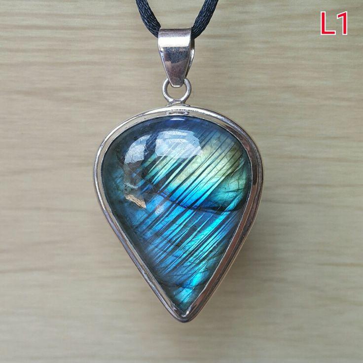 Gorgeous blue #labradorite sterling silver #pendant