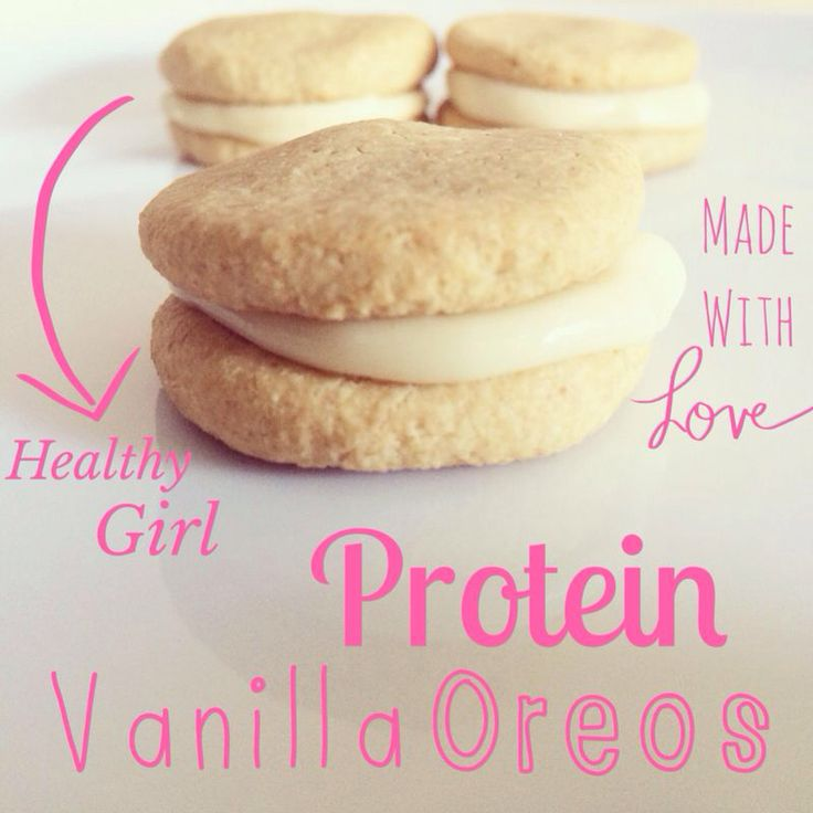 @healthygirlZA vanilla protein Oreos! #foodpics #healthy #fitfood