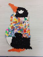 @Barbara Kennison - Tacky the Penguin craft - good idea for tear art - could q-tip paint too