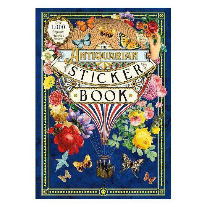 The Antiquarian Sticker Book Hardcover In 2020 Sticker Book Antiquarian Lovers Art