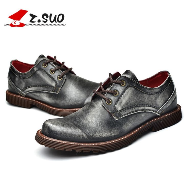 128.00$  Watch now - http://alizbr.worldwells.pw/go.php?t=32727786979 - 2016 Fashion 100% Genuine Leather Men Dress Shoes Luxury Men's Business Casual Shoes Classic Gentleman Shoes Brand Z.suo 128.00$