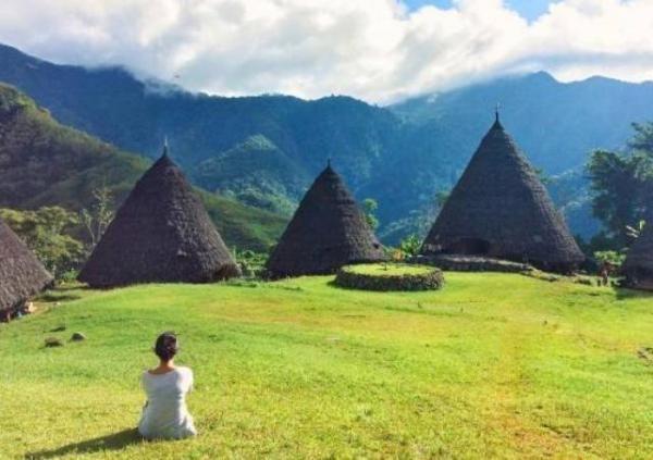 Unik dan Indahnya Wae Rebo, Desa di Atas Awan Flores