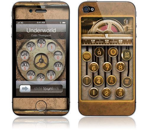Steampunk Community Forum :: Topic: Steampunk Iphone covers! (1/1)
