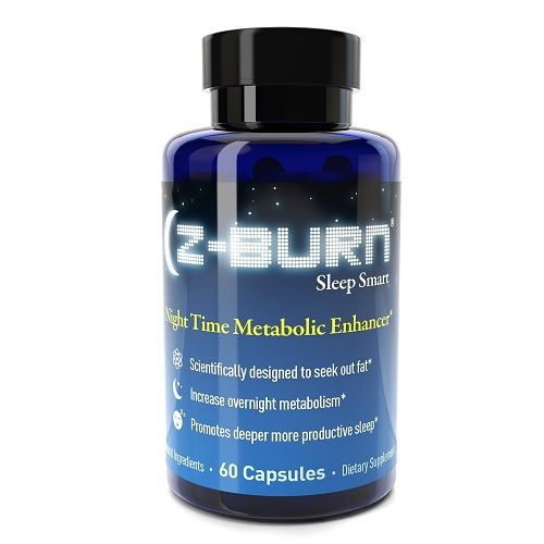 """Z BURN Night Time Fat Loss Supplement 60 Capsules – """"Sleep Great, Lose Weight!"""" – Scientifically designed to attack fat all night long, while promoting deeper more productive sleep without morning grogginess. This is something different with Z BURN Night Time Fat Loss as you are supposed to take it 30 minutes prior to bedtime. Z-burn is a non-stimulant fat burner that may also increase sleep quality. Z BURN Night Time Fat Loss Supplement 60 Capsules- out of many fat burners that you will…"""