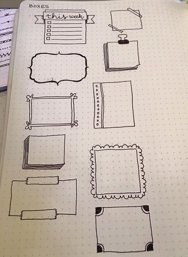 Inspirações para o seu Bullet Journal - Depois da moderação #HandwritingTips