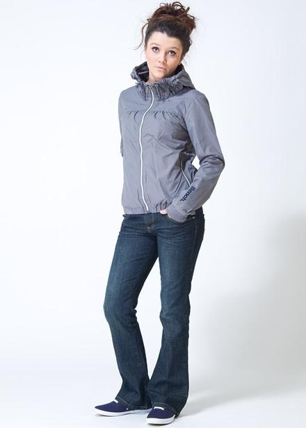 Bench Lennon Grey Zip Jacket