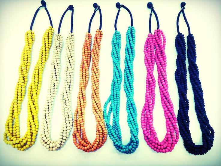twist necklaces $25 each