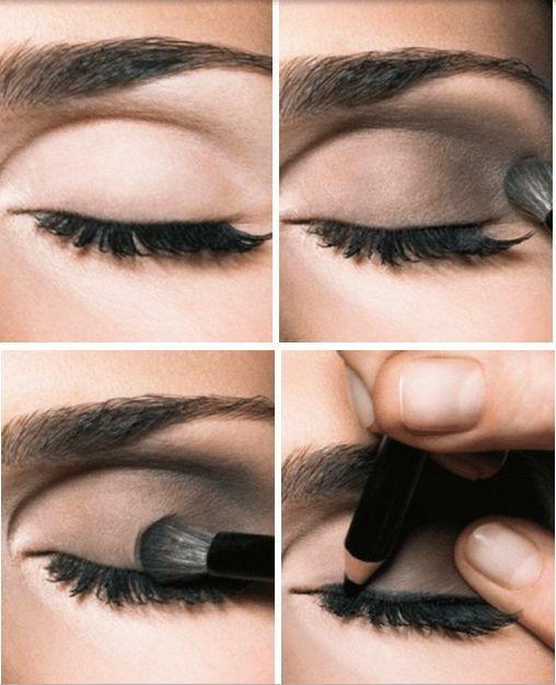 Smokey Eyes Makeup Schritt Für Schritt Mit Bildern