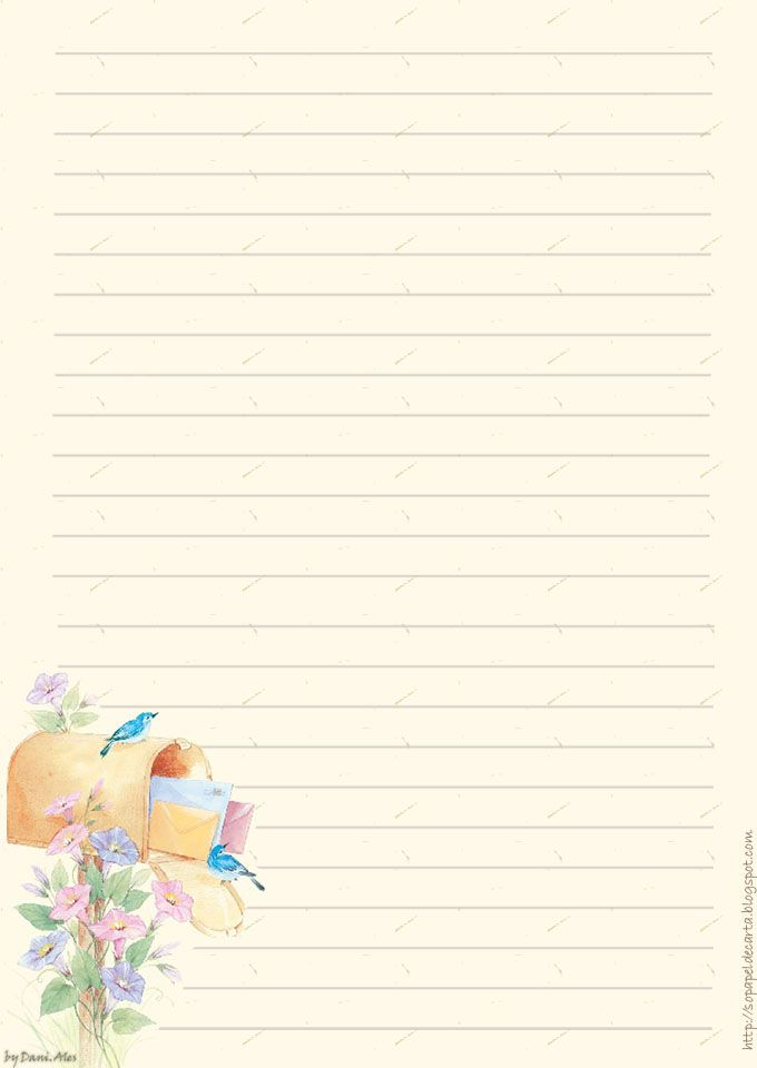 274 best pretty paper lined images on Pinterest Picasa - diary paper template