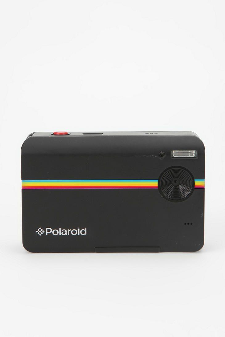 Polaroid Z2300 Instant Digital Camera. A Polaroid camera with a digital back