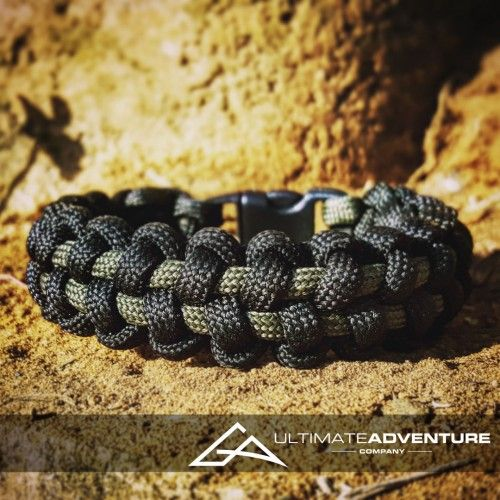 Black and OD Green TyreTrax Paracord Survival Bracelet from www.ultimateadventures.co.za  #black #odgreen #tyretrax #bracelet #paracord #paracord550 #paracordsurvival #paracordsurvivalbracelet #survival #paracordporn #outdoorgear #survivalbracelet #survivalparacord #survivaladventure #edc #everydaycarry #adventure #survivalgear #adventuregear #adventurebracelet #ultimateadventure #ultimateadventureco #ultimateadventures #paracordon #cordcraft #craft #outdoorcraft