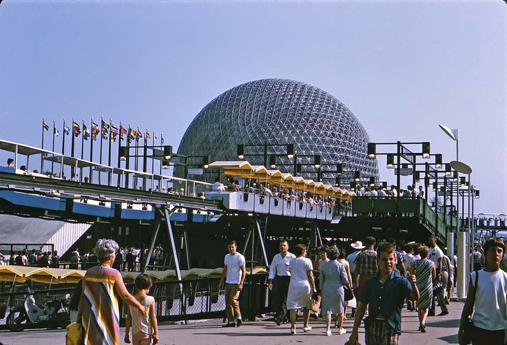 expo 67 | Expo 67, US Pavilion...Apparently Walt Disney got a lot of Inspiration here !!!...???