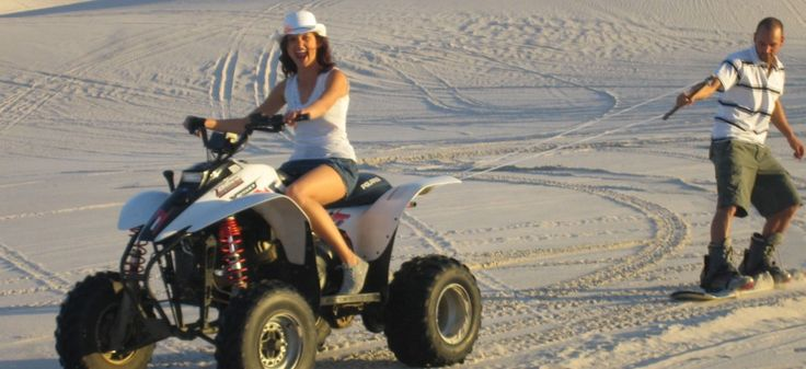 Full Day Sandboard / Quad Biking Combo