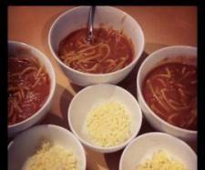 Recipe Not so Tinned Spaghetti by jodieaclark - Recipe of category Pasta & rice dishes