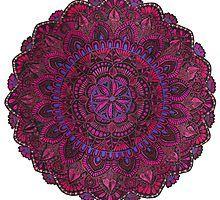 Purple Mandala by LisaL2