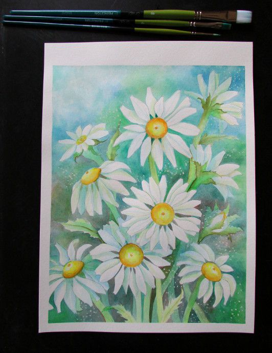 step by step watercolor painting for beginners pdf
