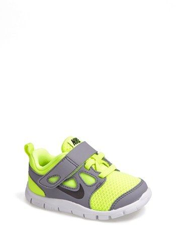 Nike 'Free Run 5.0' Sneaker (Baby, Walker & Toddler) on shopstyle.com