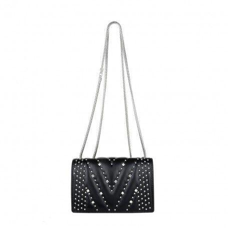 MCM Tasche – Diamond Disco Shoulder Bag Mini Black – in schwarz – Umhängetasche für Damen