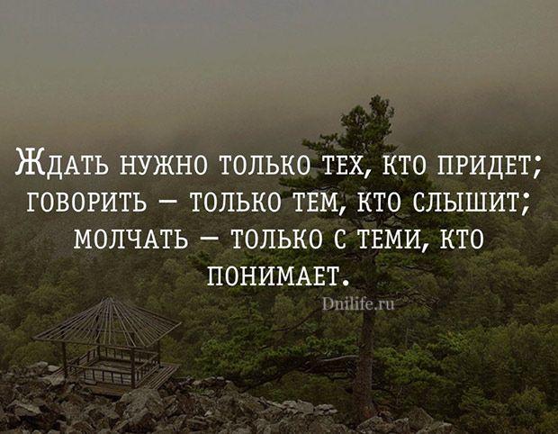 Мудрые цитаты про жизнь со смыслом с картинками 11