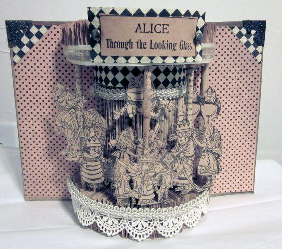Alice in wonderland Altered Book 1903 by Raidersofthelostart