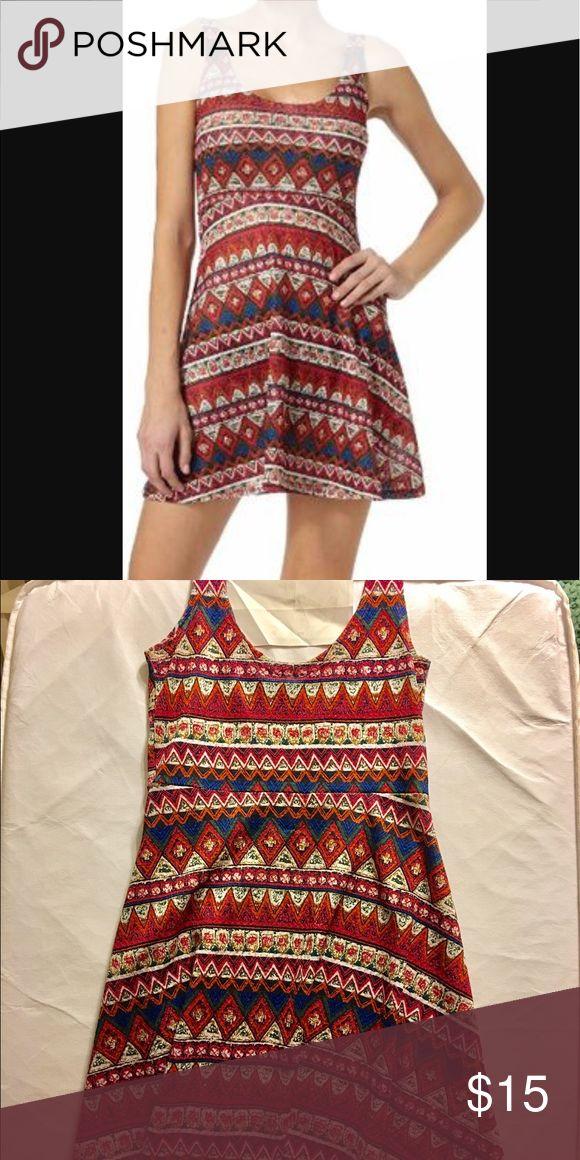 Angie Aztec print skater dress Angie Aztec print Skater Dress. Angie Dresses Mini