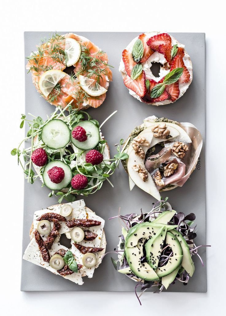Bagel ideas to start off your morning. @thecoveteur