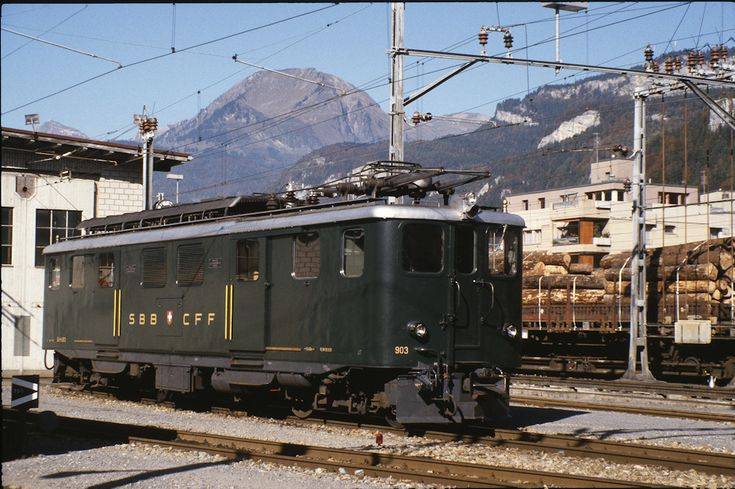 SBB Deh4/6 903 (14.10.1984, Meiringen), Foto: unbekannt