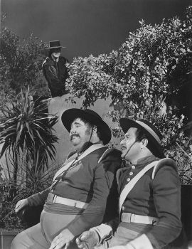 Zorro, Sgt Garcia and Corporal Reyes