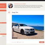 Bonpress, tema WordPress responsive gratuito e minimale per bloggers