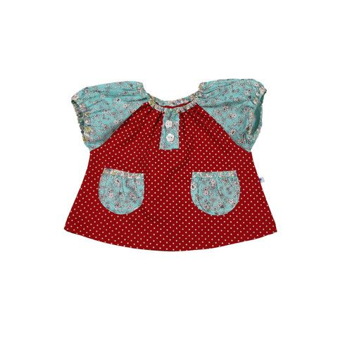 Oh so cute Helle Blouse from Fannymia http://www.danskkids.com/collections/top/products/fannymia-helle-bluse-top