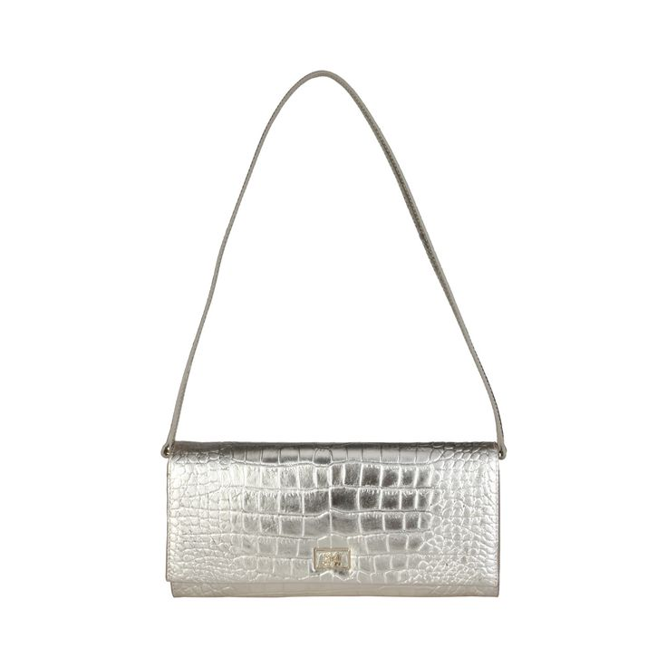 Cavalli Class – C00PW16C52H2  Clutch S/S Collection Women's bag has 1 removable handle, magnetic fastening a dustbag. Inside it, there is a zipped pocket. It's outside and lining composed of leather and 100% PL, respectively. It is of size 27*13*5,5 cm.  https://fashiondose24.com