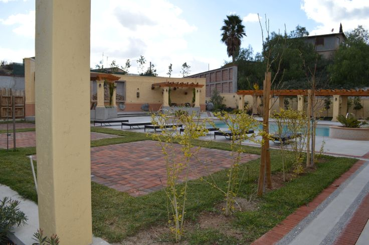Pool area/ Alberca