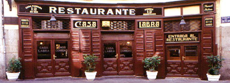 Casa Labra. Comida Tradicional Española | Madrid