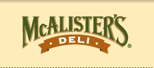 McAlister's Deli is as good as a restaurant can be.  Healthy food choices, attentive staff and a whole heck of a lot of friendliness.  Just wish Fort Wayne north had an outlet.