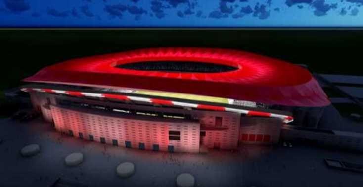 Philips iluminará el nuevo estadio del Atlético de Madrid