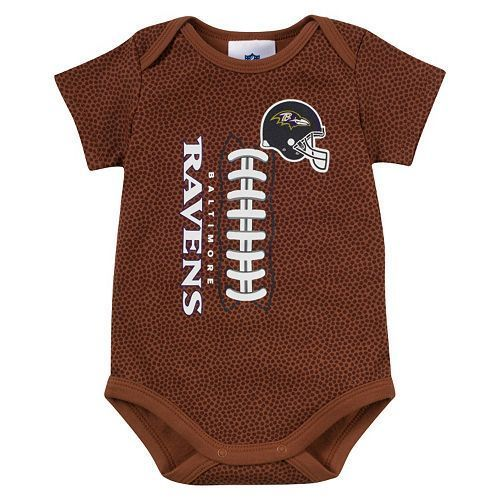 NFL Ravens Infant Bodysuit Size 12 Months Football Gift Baltimore Baby Boys (GB) #NFL #Everyday