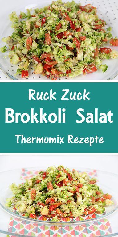 Brokkoli Salat – Ruck Zuck mit dem Thermomix – Diana