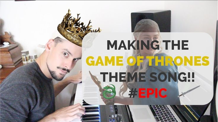 [NO SPOILERS] Youtuber PatRyanOfficial Makes an Epic Remake of the GoT Intro Using Logic Pro X!