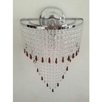 Arandela / Luminária Cristal Acrílico Alto Brilho Bivolt - Jaú