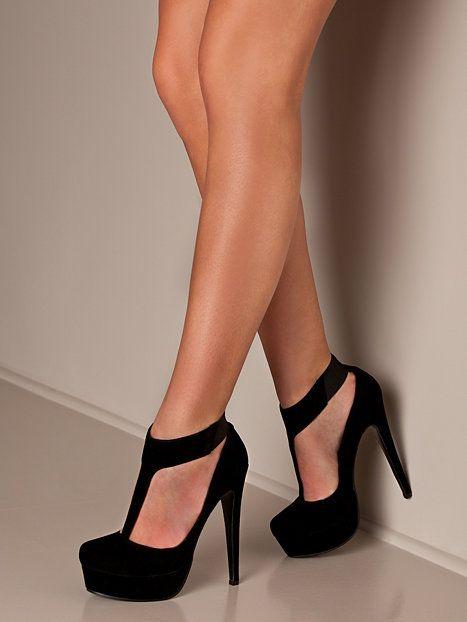 ZARA gelben Patent Block Heel Ankle Strap Round Toe Pumps