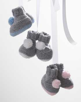 pom pom booties, pdf download