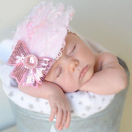 115 best cintas coronas y diademas para beb s images on - Lazos para bebes ...