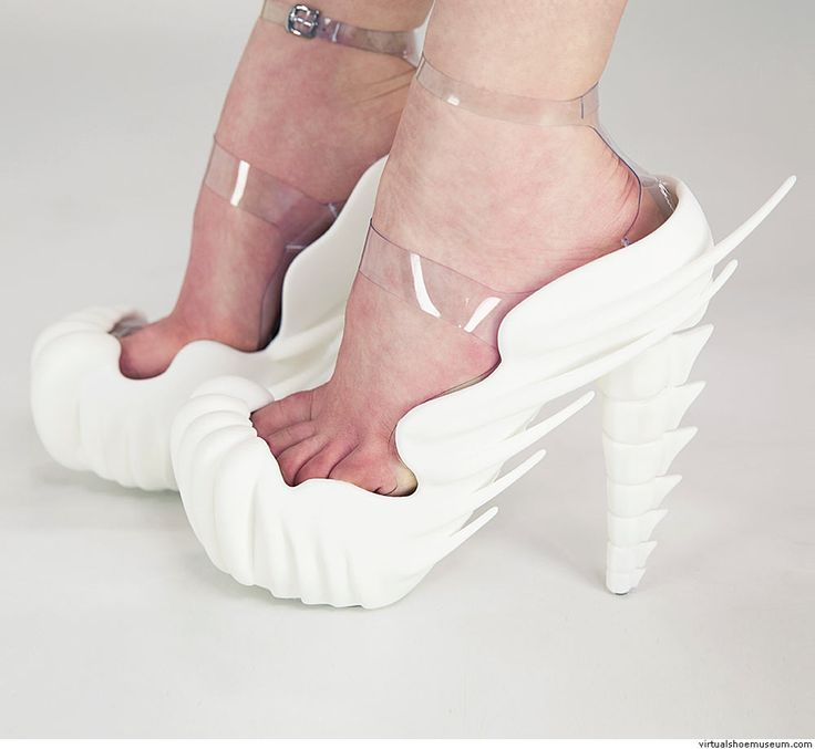 Bone shoes | virtualshoemuseum.com