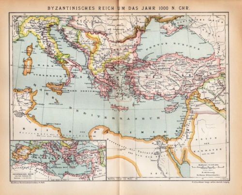 comparison of byzantine empire and ancient Learn to write the byzantine minuscule  texts in greek shortly after the height of the byzantine empire,  about the ancient & medieval greek.
