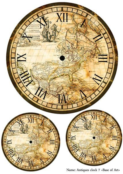 20 best images about clock faces on pinterest world map clock faces gumiabroncs Image collections