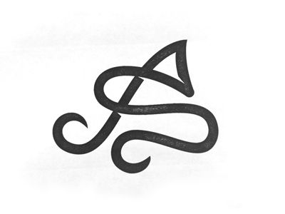 I'm designing a tattoo for someone - the letters they want to show are A & S. They're two difficult letters to sit with each other but I think this layout is looking pretty cool. Any thoughts o...