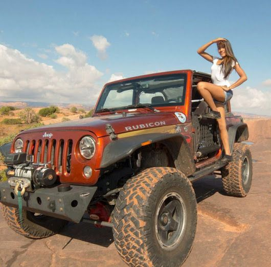 girls and jeeps. the hottest